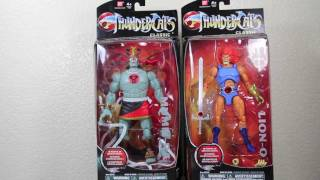 Thundercats Classic Mumm-Ra & Lion-O 6 inch Action Figure Review