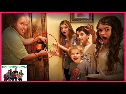 24 Hours TRAPPED In The HACKERS MANSiON  Movie  That YouTub3 Family I Family Channel