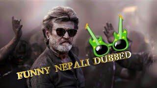 Rajnikanth  Dumped Police|Nepali dubbed Funny video|2018