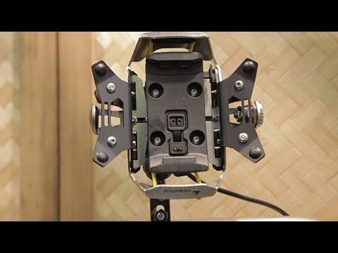 Touratech Garmin Navigationshalterung News 2013 auf der Eicma 2012