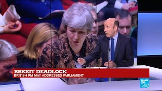 """Brexit deadlock: """"Theresa May has stuck to her guns"""""""