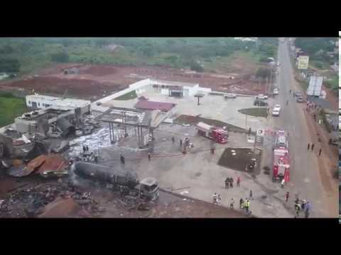 Fatal gas explosion at Atomic Junction in Ghana