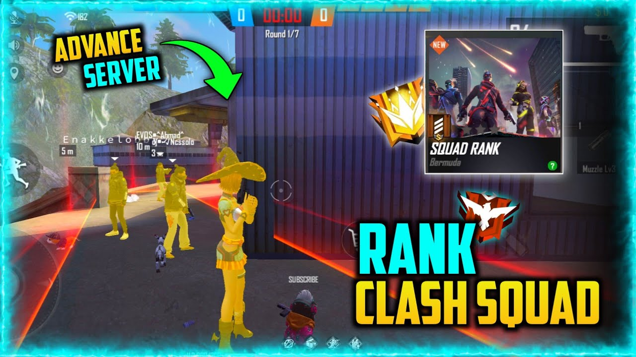 Free Fire Clash Squad Ranked Mode