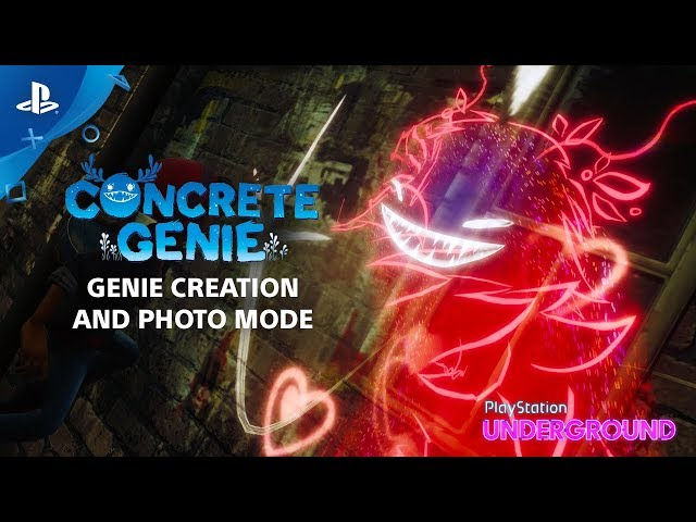 Concrete Genie - Genie Creation and Photo Mode | PlayStation Underground