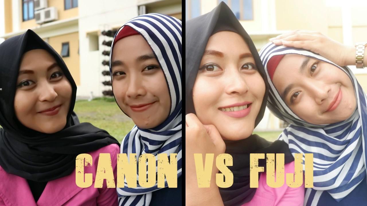 REVIEW Fujifilm XA 3 VS Canon EOS M10 Hasil Perbandingan Video Dan Foto