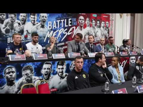 PURE BEEF! - *VERY FIERY* DAVIES-FARRELL / DODD-STALKER / BUTLER-HALL - FULL UNCUT PRESS CONFERENCE