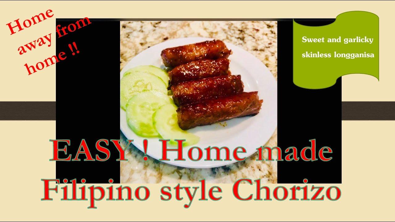 EASY ! Homemade Filipino Style Chorizo