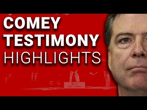 James Comey Testimony on Trump Russia HIGHLIGHTS