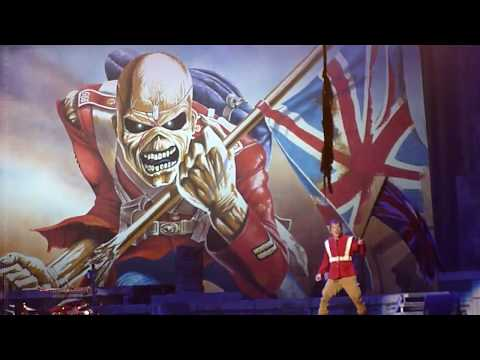 """Iron Maiden - """"The Trooper"""" - Live 07-05-2017 - Oracle Arena - Oakland, CA"""
