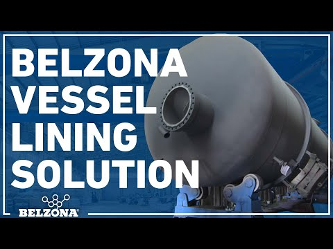 Belzona vessel lining solution in action