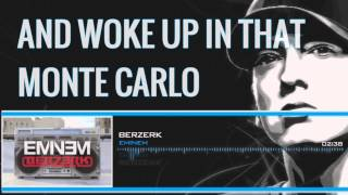 Eminem - Berzerk (Lyrics)