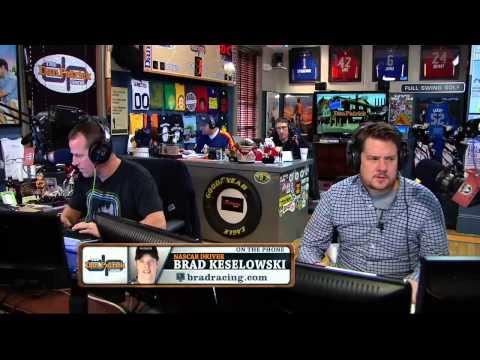 Brad Keselowski on the Dan Patrick Show (Full Interview) 2/12/14