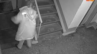 Последствия нападения на медсестру в Новокузнецке попали на видео