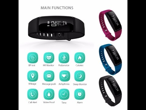 V07 Smart Bracelet Blood Pressure Watches Band Smartband Heart Rate Monitor Fitness Pulsometro Activ