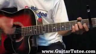 Taylor Swift - The Other Side Of The Door, by www.GuitarTutee.com