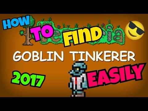 How to find goblins tinkerer easily , After defeating the Goblin army !! New 2017 way