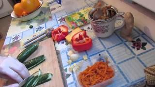 Легкий и быстрый салат для быстрого Утоления Голода.