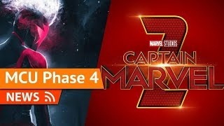 Captain Marvel 2 in Development for 2022 Release with New Director & Writer