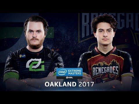 CS:GO - OpTic vs. Renegades [Cache] - Group B Round 4 - IEM Oakland 2017