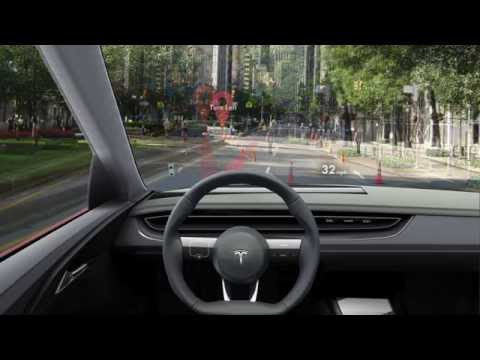 Windshield HUD User Interface - Augmented Reality Navigation