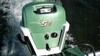 1955 johnson 5.5hp outboard motor cd-12