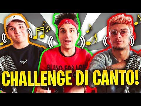 CHALLENGE DI CANTO! ANIMA vs ST3PNY vs KLAUS! Chi canta meglio?