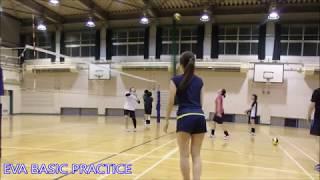 【バレーボール】EVA BASIC#5【END】 スパイク,セッター Volleyball JAPAN TOKYO 東京サークル チーム