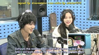 Download [ENGSUB CUT] 171129 SBS Power FM Park Sohyun Love Game with Yesung