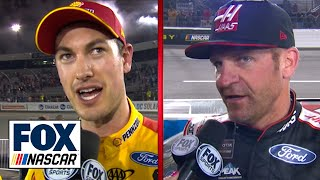 Joey Logano & Clint Bowyer On Hunting Martin Truex Jr. For The Win In Richmond | Nascar On Fox