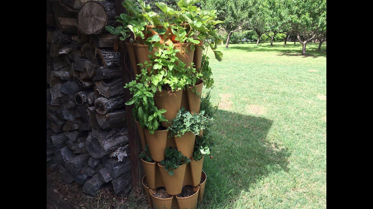 Greenstalk Stackable Garden System Update