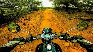 Honda Highness CB 350 Detailed Off-Road Ride In Hindi