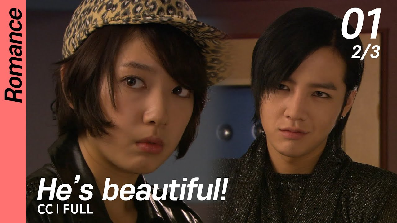 Download [CC/FULL] He's beautiful! EP01 (2/3)   미남이시네요