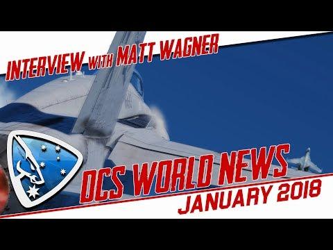 DCS World: News January 2018 (Interview on DCS 2.5 with Matt Wagner)