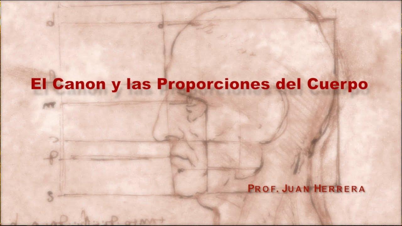 Anatomía Artística - El Canon y las proporciones del cuerpo - Juan ...