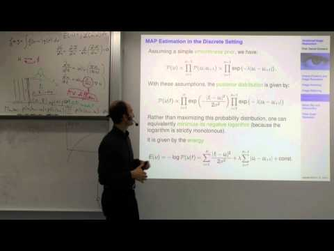 Variational Methods for Computer Vision - Lecture 7 (Prof. Daniel Cremers)