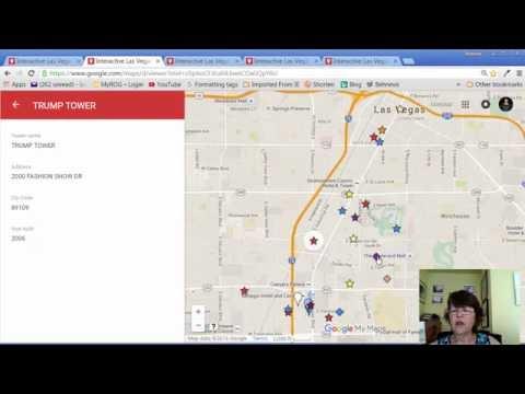 Interactive Las Vegas high rise condo and mid-rise luxury condo map