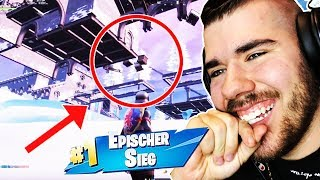 9-year-old child is pranked with *under the Map Glitch* in Fortnite! 😂