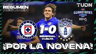 Resumen y goles   Cruz Azul 1-0 Pachuca   Guard1anes 2021 BBVA MX - Semifinal Vuelta   TUDN