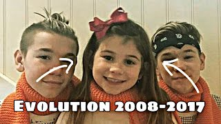 Marcus & Martinus little sister Emma - Evolution 2008-2017