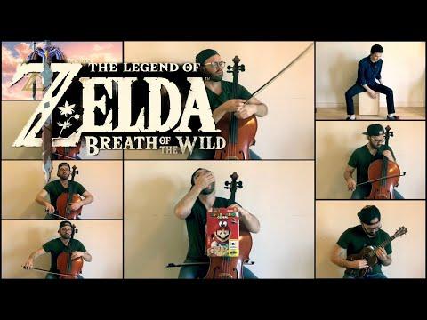 Zelda Cello - Breath of the Wild - Gerudo town Day theme