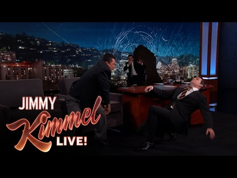 Henry Cavill Punches Jimmy Kimmel