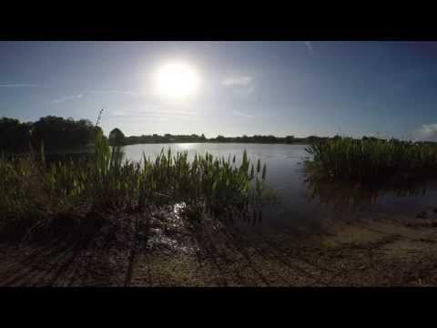 Small Lake in Waterford Lakes Orlando Florida shot in 4K on GoPro Hero 4