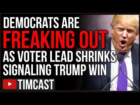 """Democrats Freak Out Over """"Deja Vu"""" As Biden Lead LESS THAN Hillary, Republicans WINNING Vo"""