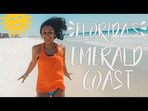 USA Travel Vlog | The Best Food & Beaches On Florida's Emerald Coast