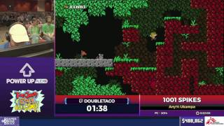 1001 Spikes by doubletaco in 23:40 - SGDQ2017 - Part 68