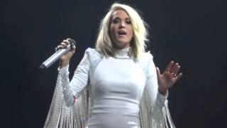 Carrie Underwood - Heartbeat 1-30-16 Storyteller Tour Jacksonville, FL