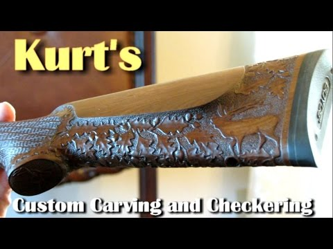 Turn Your Old Gun-stock Into A MAGNIFICENT Piece Of ART! - Rex Reviews