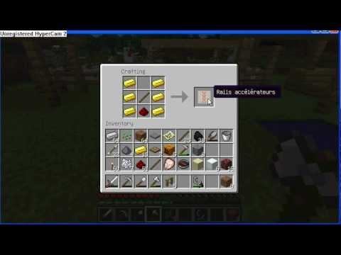 Minecraft comment faire des rails sp ciaux rails boosteurs et detection fr youtube - Comment faire griller des chataignes ...