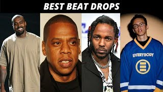 Best BEAT DROPS In Rap Songs