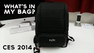 CES 2014: What's In My Bag?